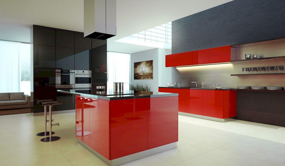 Red And Black Kitchen Ideas 26 Decoredo