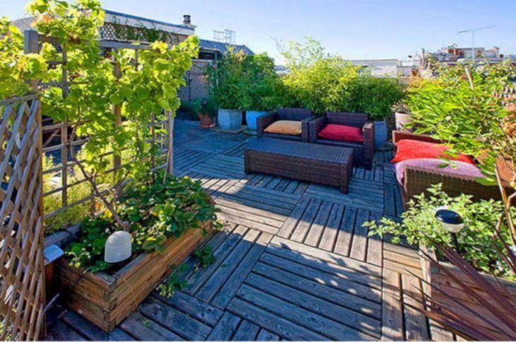 Rooftop Garden Ideas 122