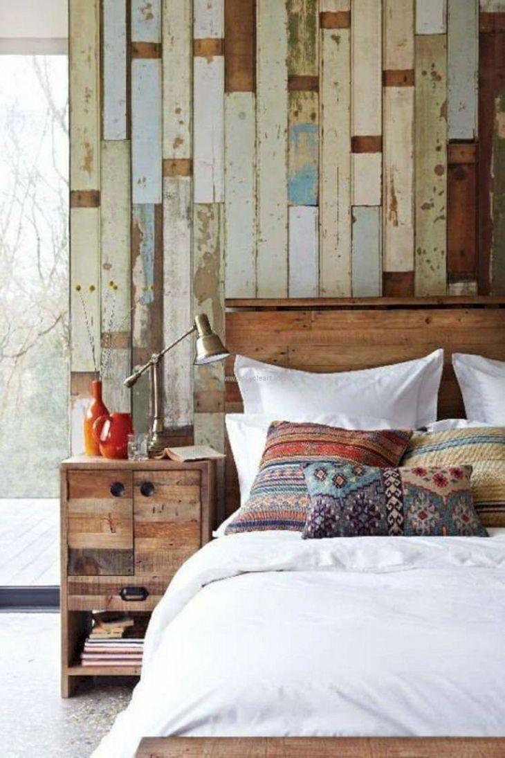 Rustic Bedroom Wall Ideas 50