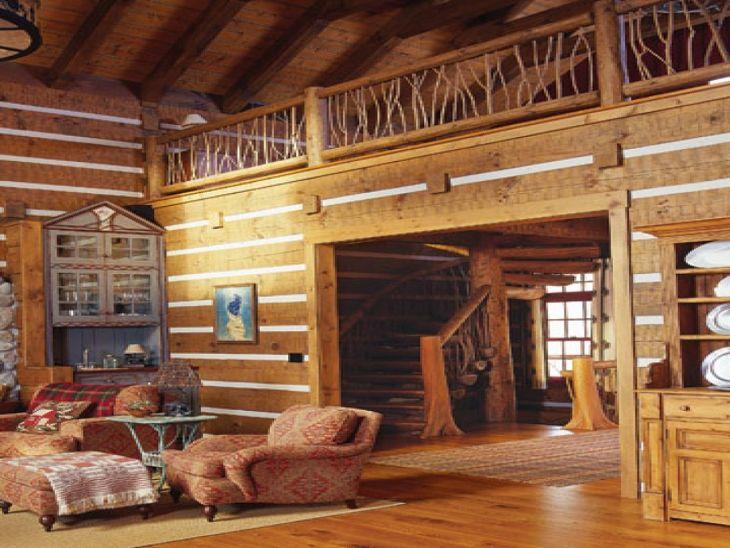 Rustic Cabin Interior Ideas 15