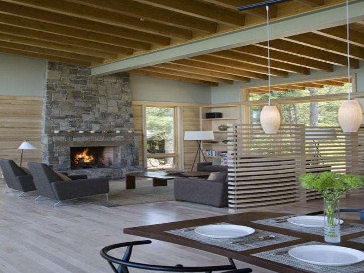 Rustic Cabin Interior Ideas 16