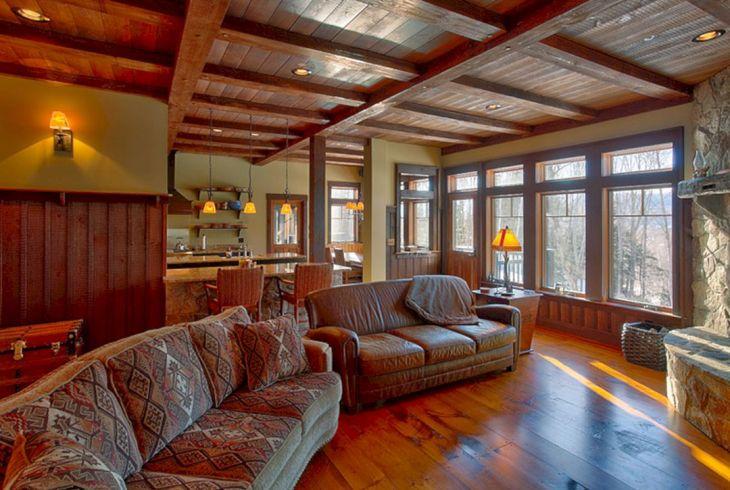 Rustic Cabin Interior Ideas 22