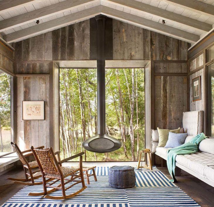 Rustic Cabin Interior Ideas 24
