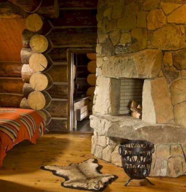 Rustic Cabin Interior Ideas 25