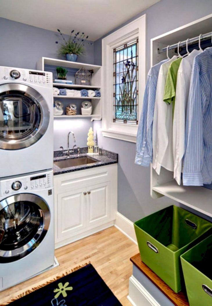 Small Laundry Room Hacks 25