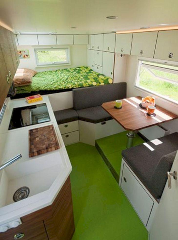 Small RV Camper Van Interiors 014