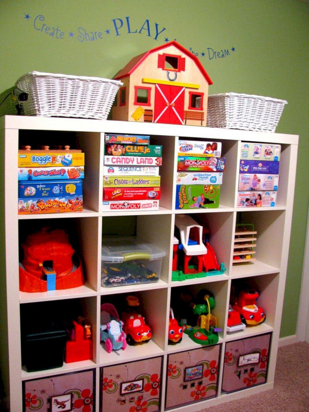 Toy Storage Organization Ideas 20