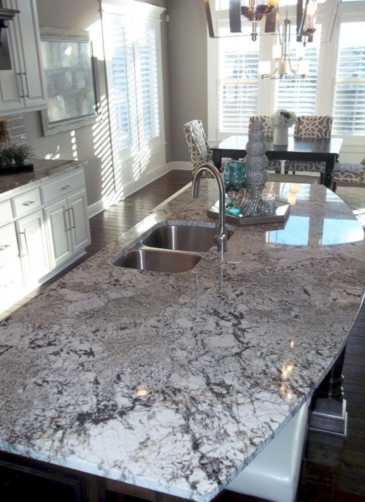 White Granite Kitchen 180