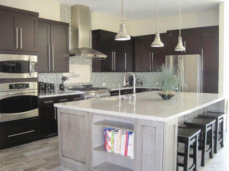 White Granite Kitchen 200