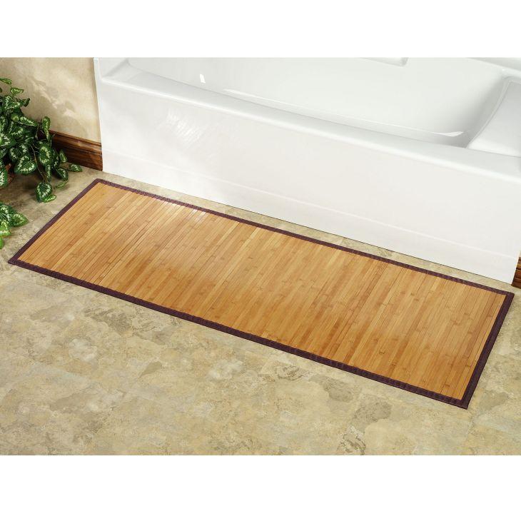 Bamboo Mats Floor Kitchen 1