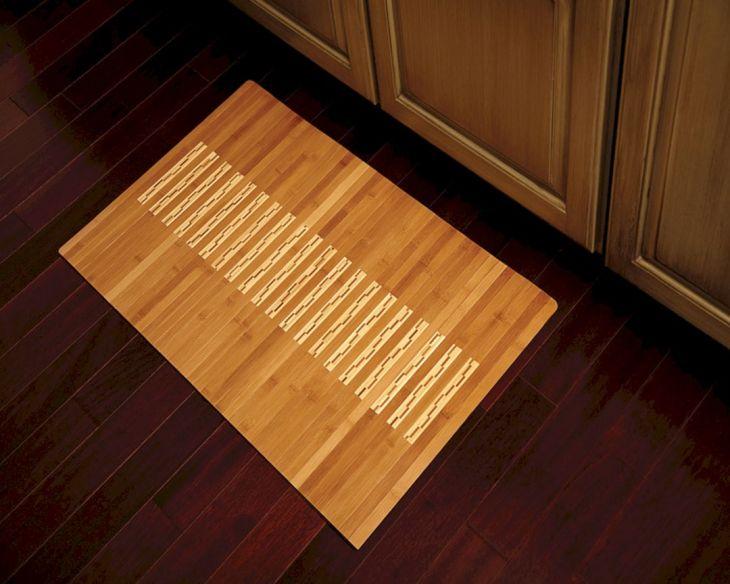 Bamboo Mats Floor Kitchen 2