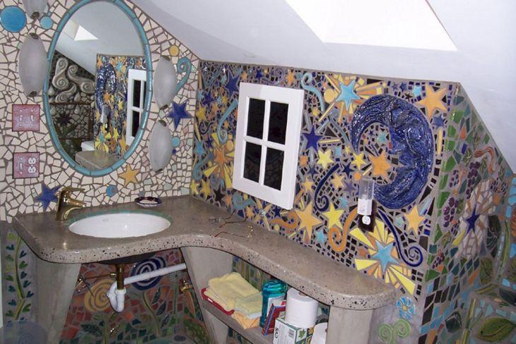 Bathroom Mosaic Ideas 010