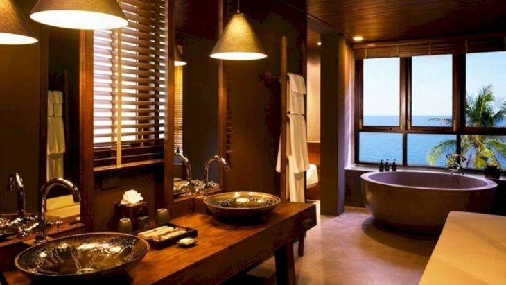 Bathroom with Japanese Home Interior Design 2