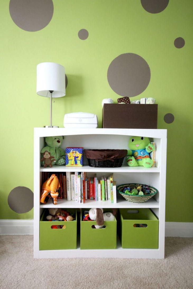 Bedroom Design with Bookshelves 3