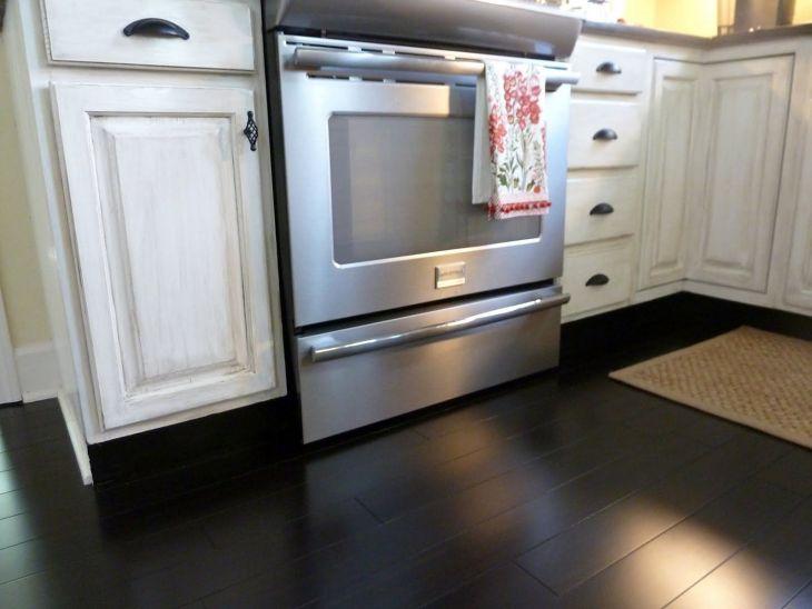 Black Bamboo Flooring Kitchen 003