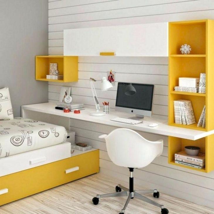 Child Bedroom Design With Study Desk 2