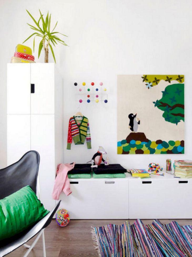 Kids Room Storage Design 001
