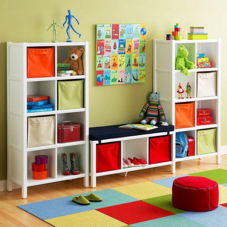 Kids Room Storage Design 0011