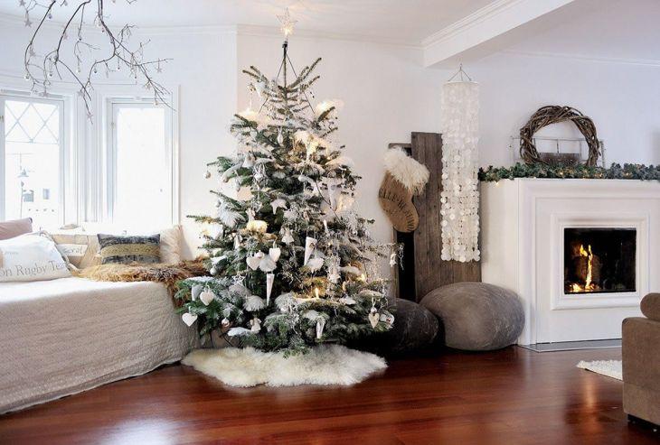 Living Room Christmas Decor 1010