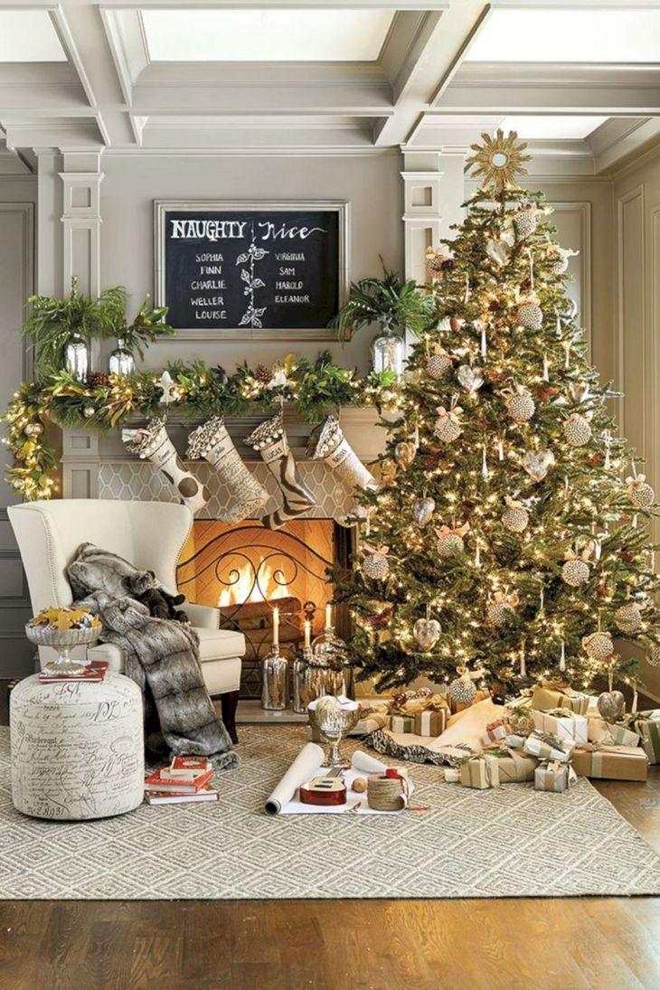 Living Room Christmas Decor 1026