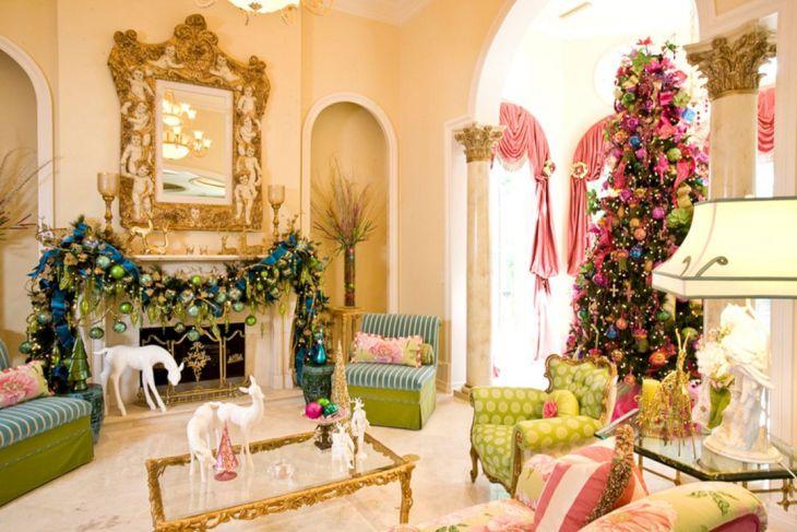 Living Room Christmas Decor 103