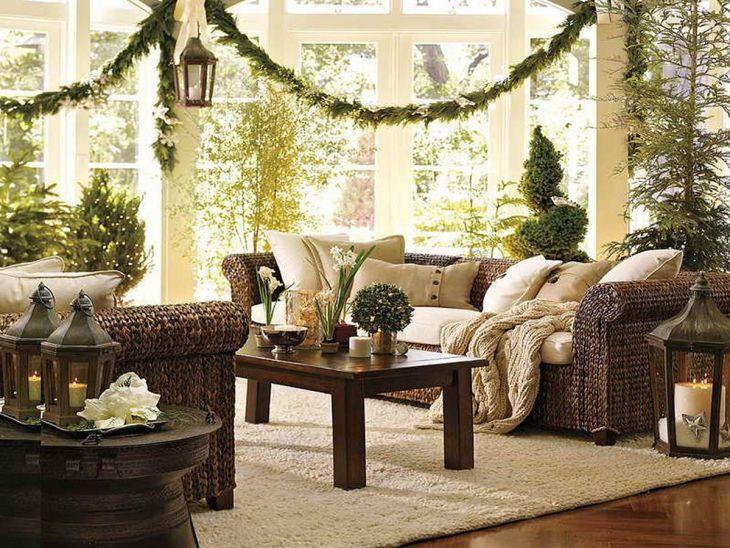 Living Room Christmas Decor 106