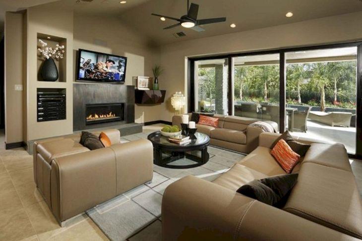 Living Room Open Space Design 1001
