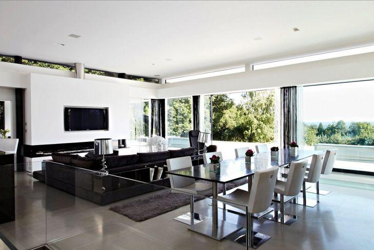 Living Room Open Space Design 1201