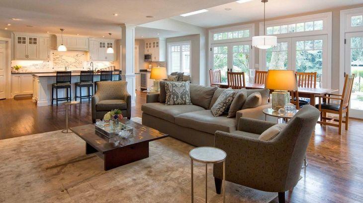 Living Room Open Space Design 1501