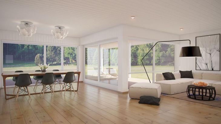 Living Room Open Space Design 1801