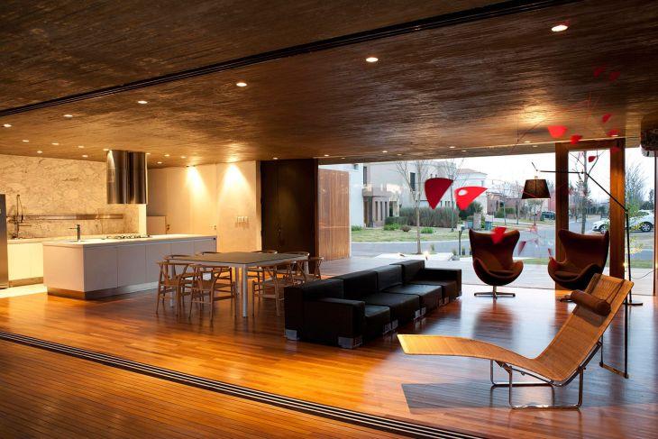 Living Room Open Space Design 501