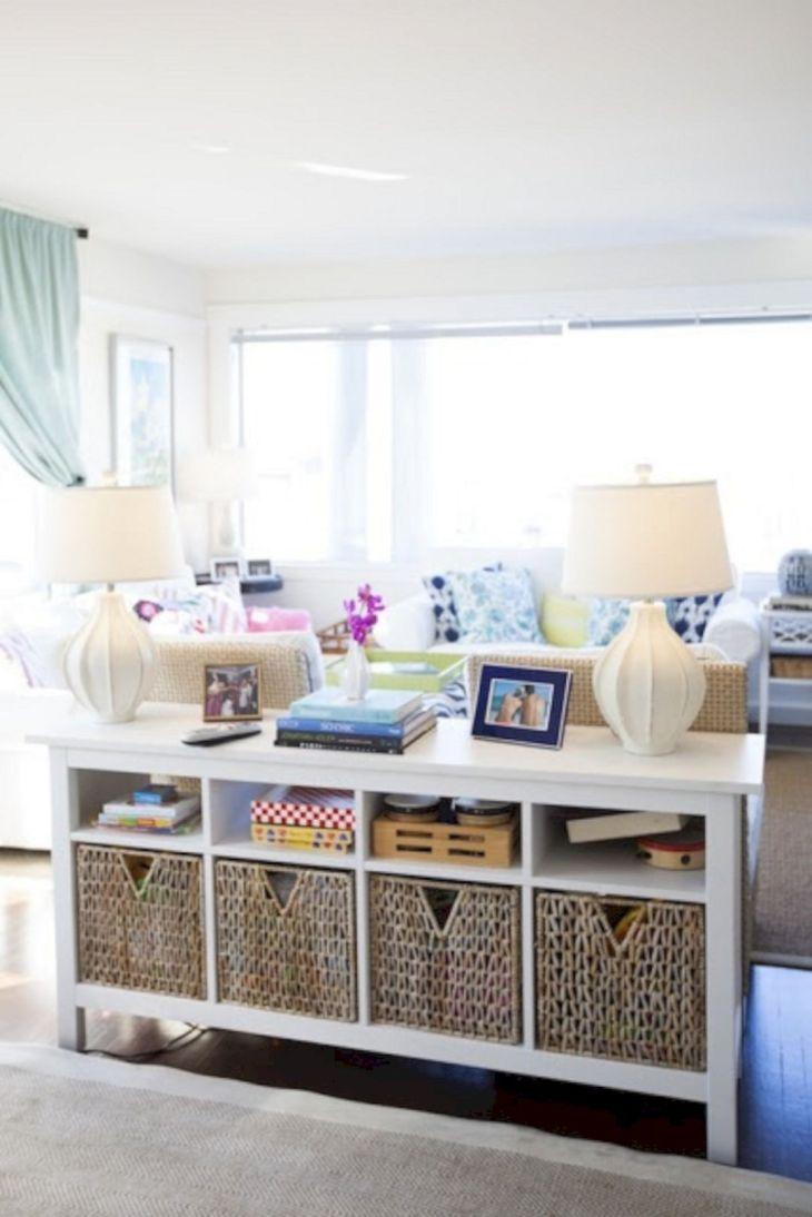 Living Room Storage Ideas 20
