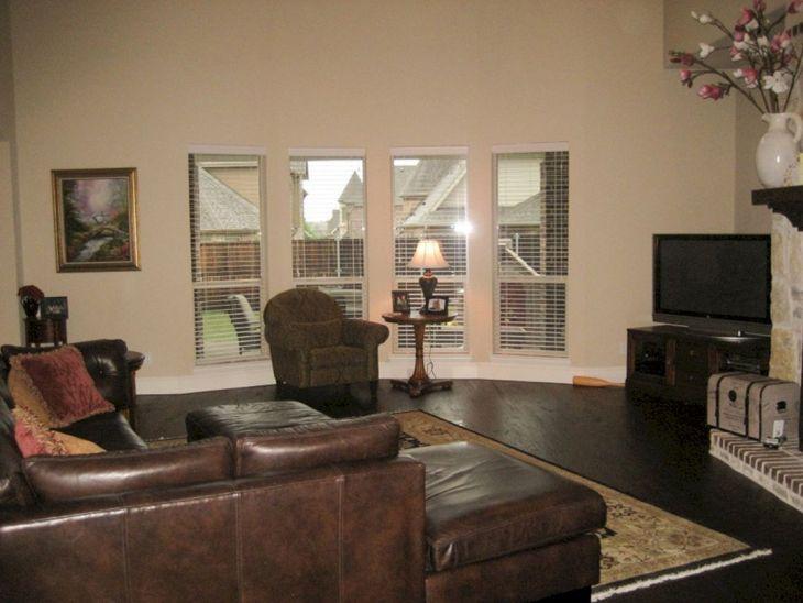 Living Room With Dark Wood Floors 30
