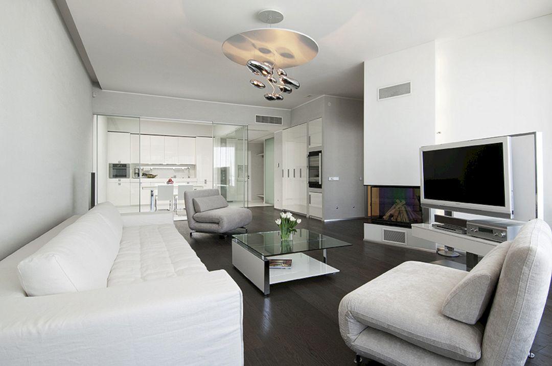 Living Room With Dark Wood Floors 40