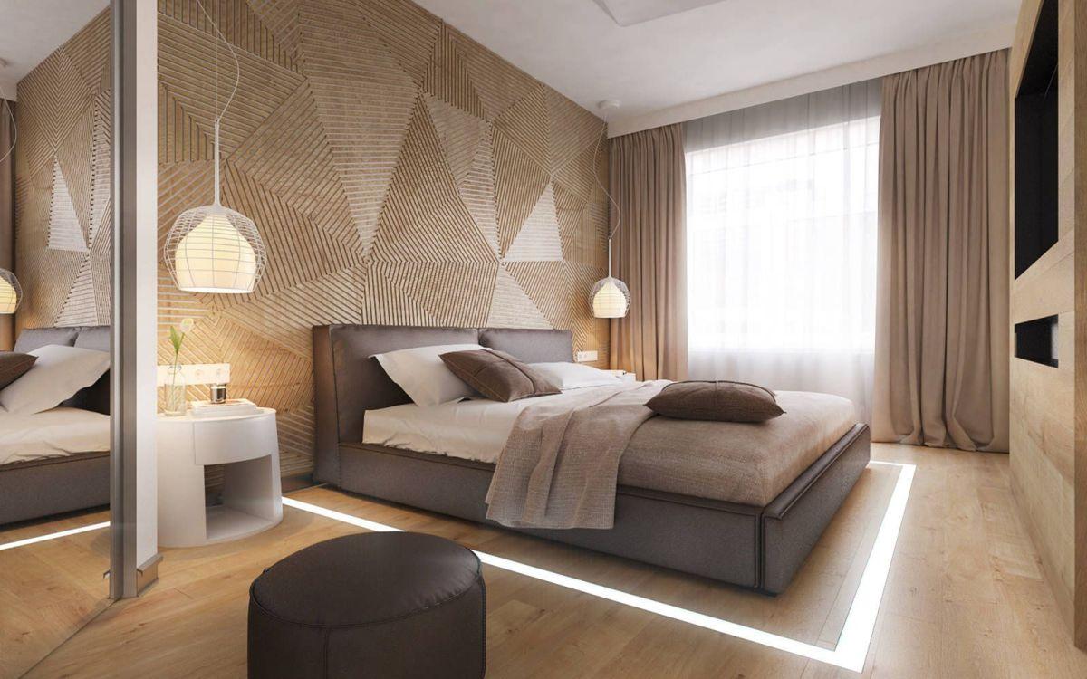 23 Modern Bedroom Wallpaper Decoration Ideas   DECOREDO