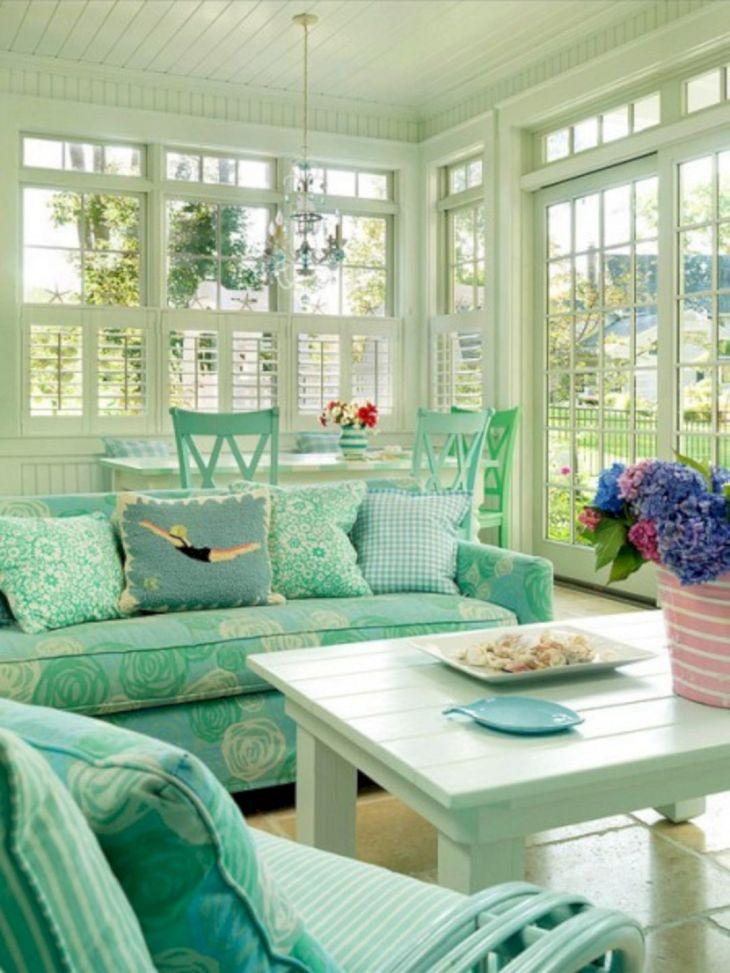 Sun Room Color Ideas 11