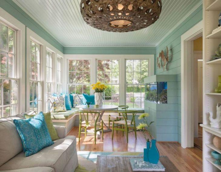 Sun Room Color Ideas 15