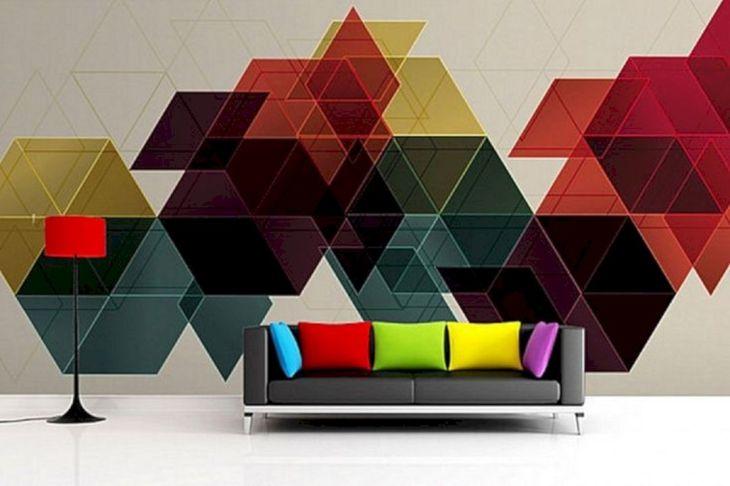 Abstract Wall Home Wall Idea