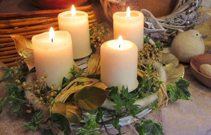 Christmas Candle Decoration 20