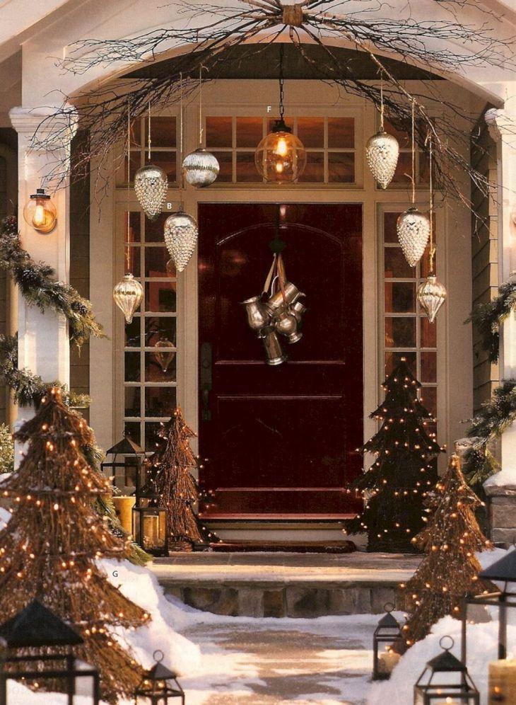 Christmas Home Door Design 2