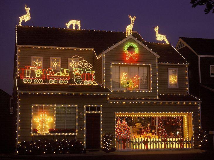 Christmas Light Decoration 4