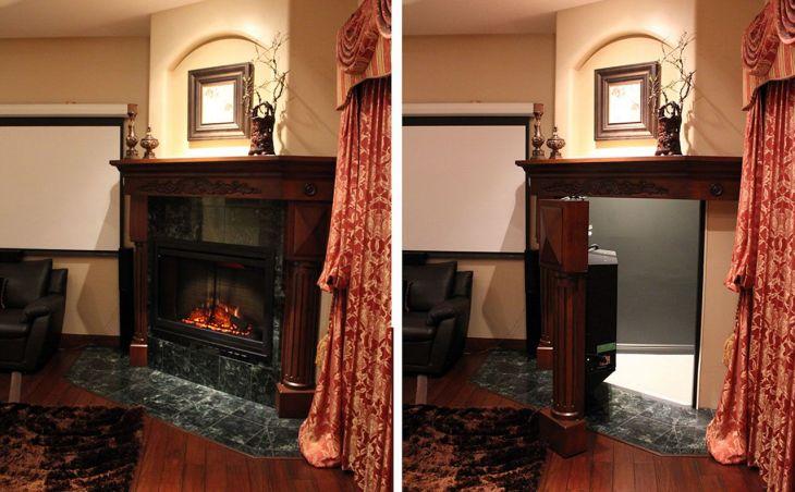 Hidden Room Behind the Fireplace 17