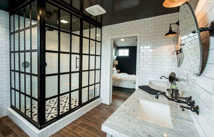 Industrial Bathroom Glass Design Ideas