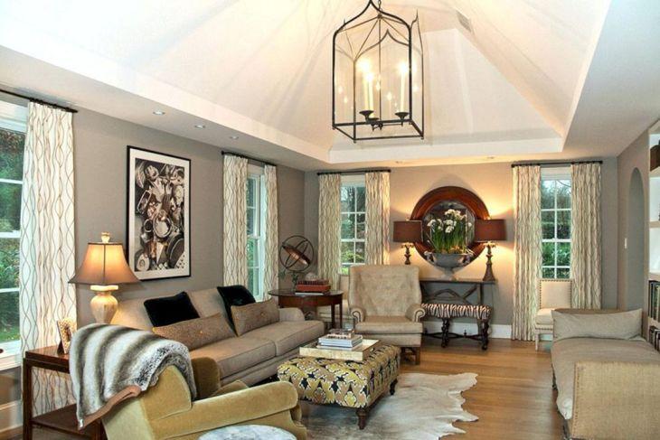 Living Room Decorative Lights With Unique Arche