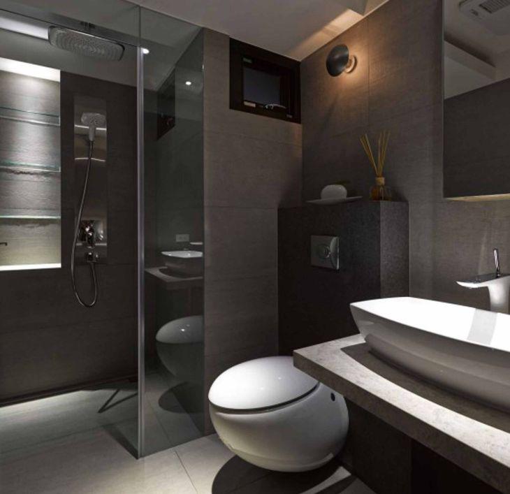 Minimalist Bathroom Interior Design 17