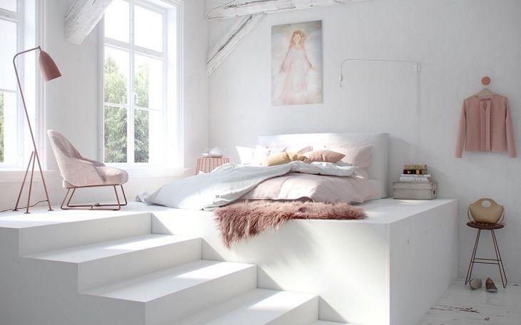 Small Bedroom with Minimalist Furniture