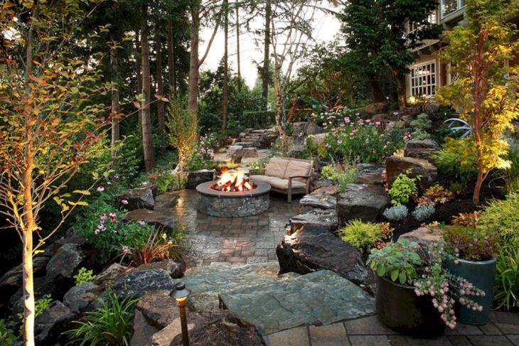 Backyard Rock Garden Ideas 0012