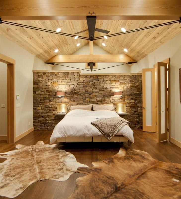 Bedroom Wood Floor And Wall