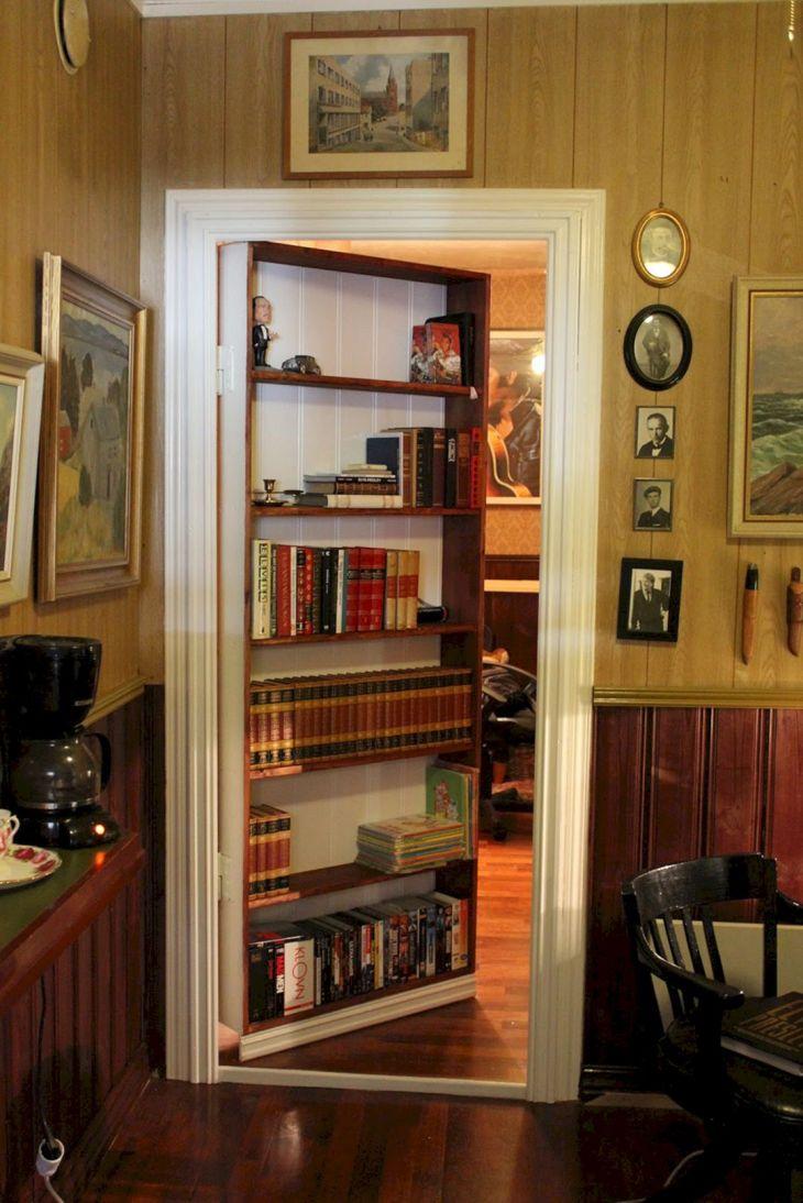 Bookshelf The Same Time a Secret Door source nanobuffet com