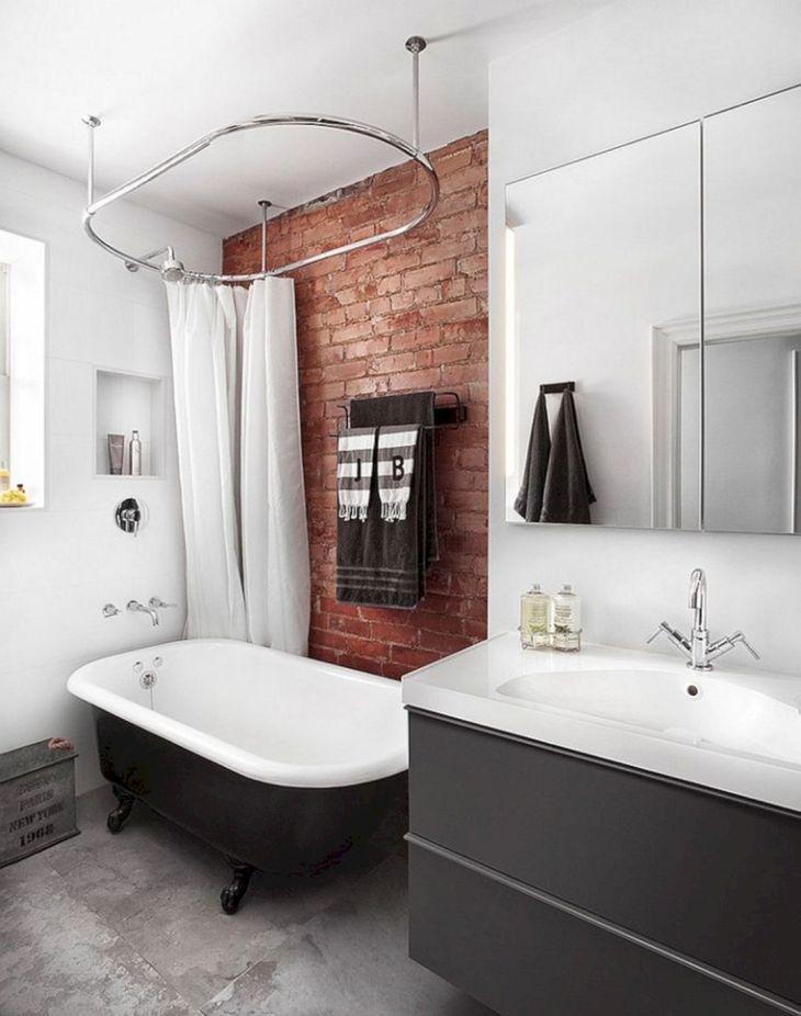 Brick Wall Bathroom Design Source lining shop info
